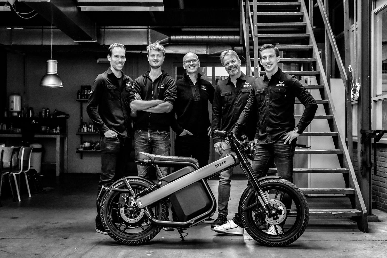 team of the startup brekr